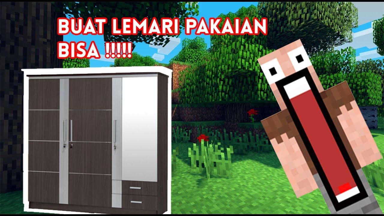Cara membuat Lemari di Minecraft  YouTube