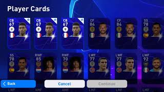 Using Free Scouts To Trade - eFootball PES20 mobile..