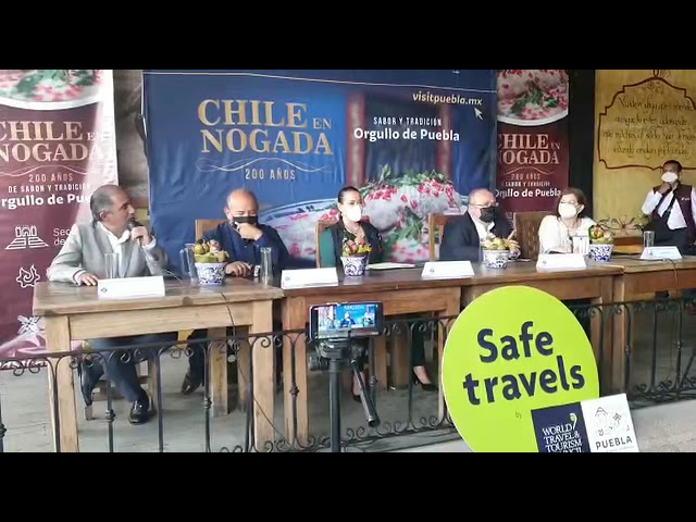 Mensaje del Presidente de Canirac, Octavio Mata a propósito de los 200 años del Chile en Nogada