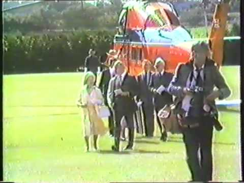 Queen Mother's Visit to Worstead 19th July 1985