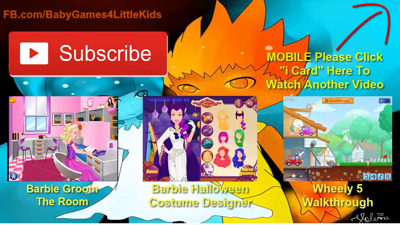 halloween games for kids to play super barbie halloween dress up halloween makeover 2016 - Barbie Halloween Dress Up Games