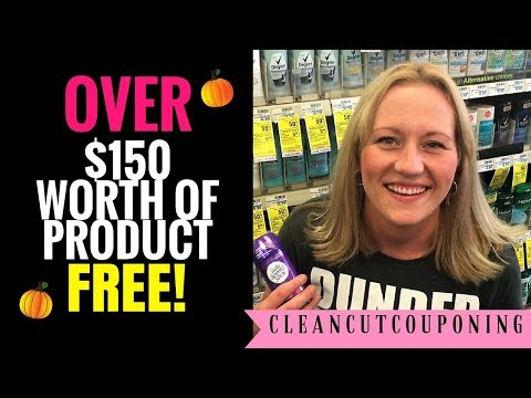CVS COUPONING Weekly Video (9/17-9/23) All FREE! + GIFT CARD GIVEAWAY!