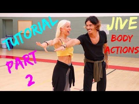 Gabriele Goffredo & Anna Matus | Jive Basic Body Actions | Ballroom Latin Techniques