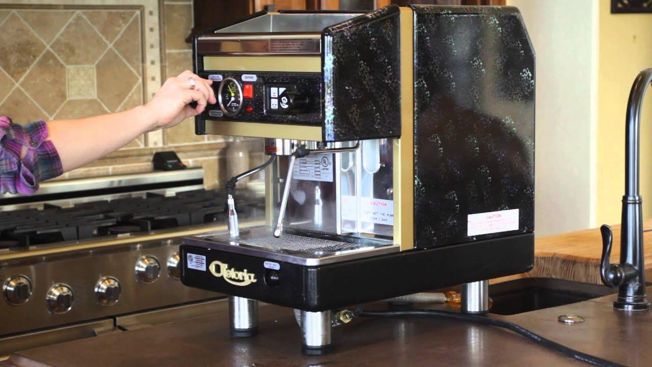 astoria argenta sae jun espresso machine demo youtube. Black Bedroom Furniture Sets. Home Design Ideas