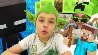 Сборник мультиков Майнкрафт: лучшие выпуски! Видео для мальчиков