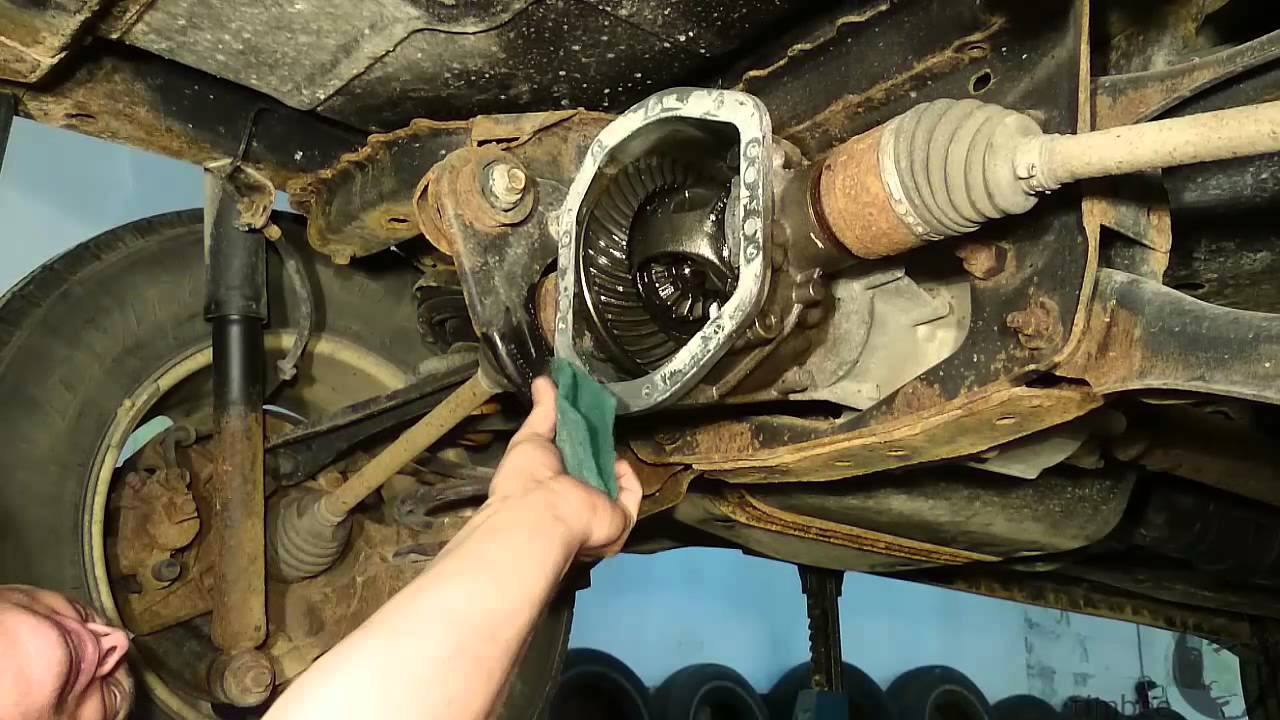 Changing The Diff Oil 2 Youtube