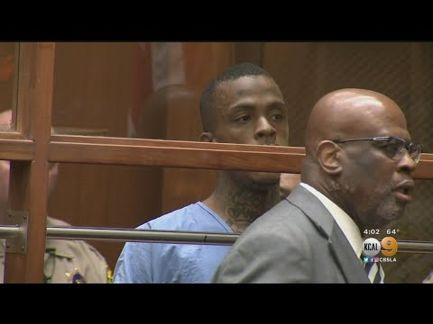 Eric Holder, Represented By Attorney Christopher Darden, Charged With Murder In Nipsey Hussle Shooti