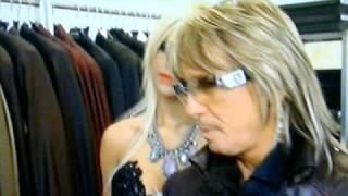 bert wollersheim und sophia vegas beim einkaufen sexy wäsche 11.04.2011