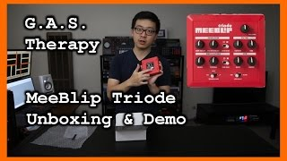 meeblip triode synth unboxing demo g a s therapy