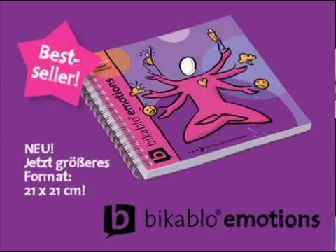 Visuelles Wörterbuch bikablo emotions