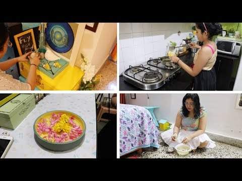 How Is My Morning To Evening Routine During Summer Vacation & Without Maid !!!! Maitreyee's Passion