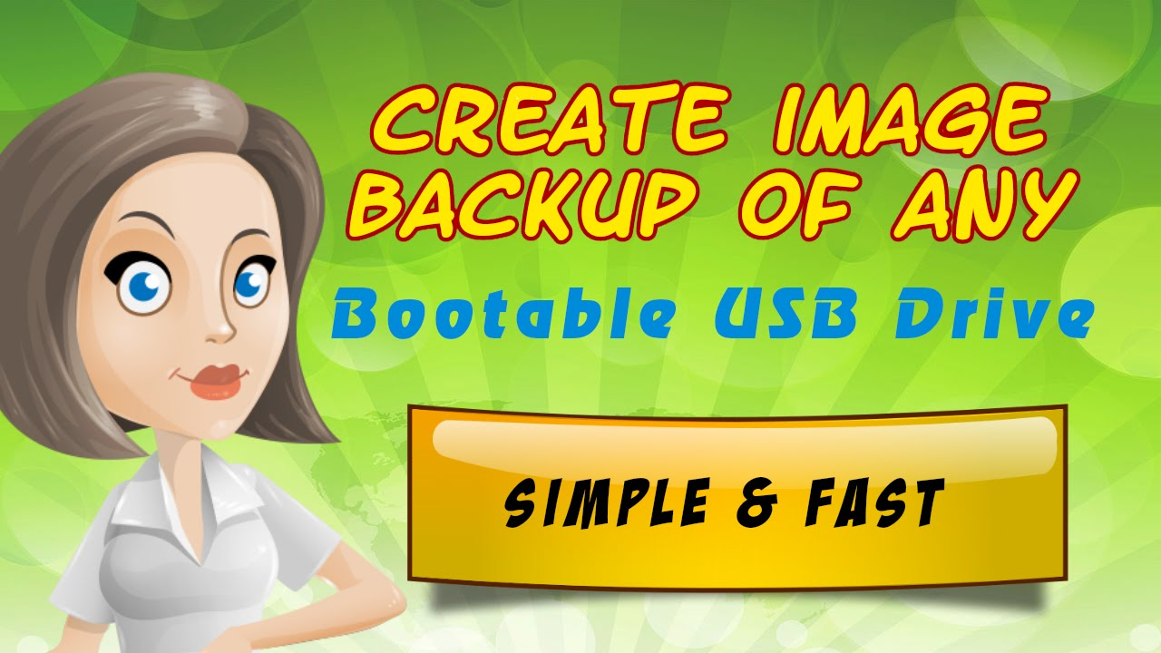 how to create bootable image
