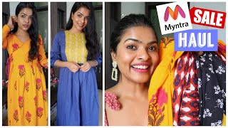 *Sale * Myntra Ethnic Kurti Dress / Maxi Dress Haul | How to Share & Earn upto Rs. 9000 weekly
