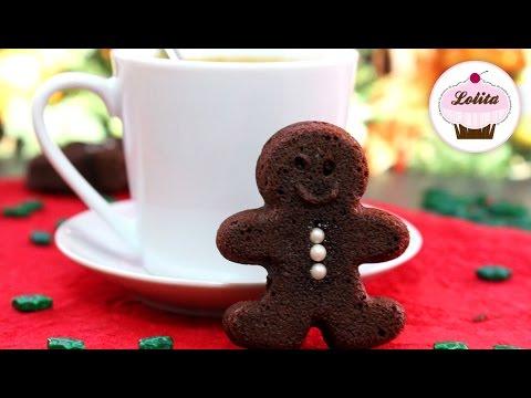 Brownie de jengibre y chocolate | Brownie de navidad