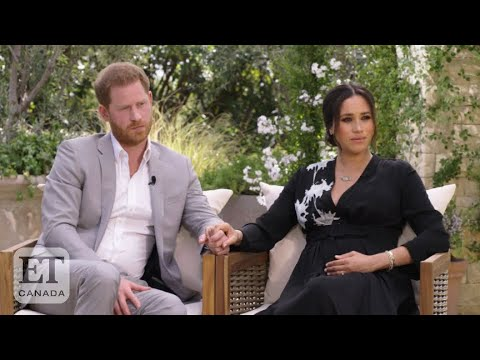 Oprah Asks Meghan Markle If She Was 'Silenced' In Interview Special Preview