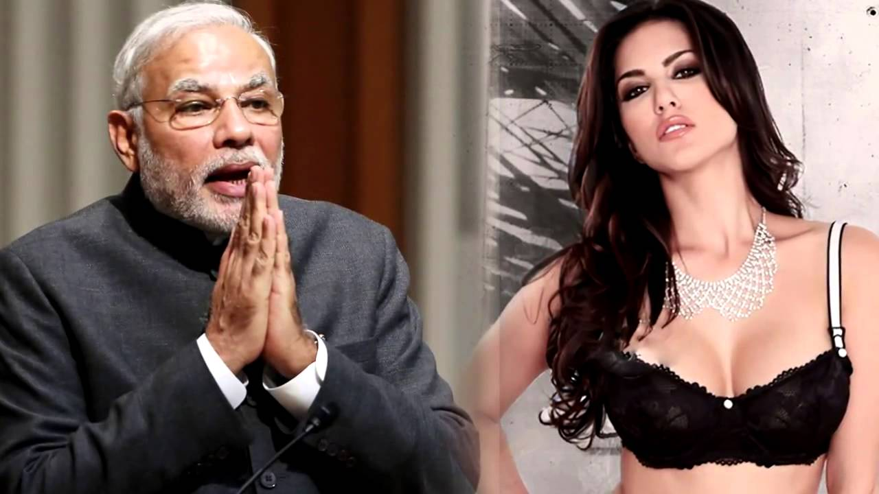 SEXY Sunny Leone BEATS Narendra Modi | SHOCKING - YouTube