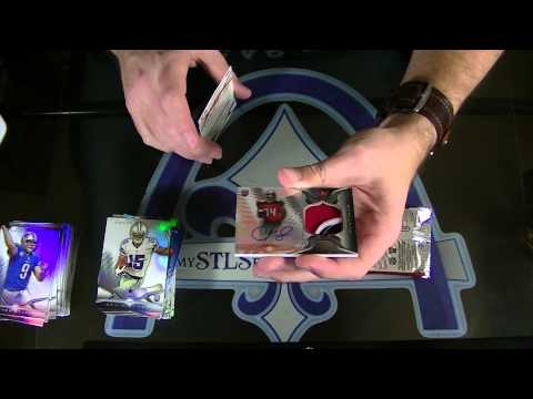 Triple Threads, Platinum, Totally Certified & MORE Football Group Break #1091 - Part 2