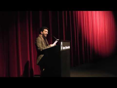 """""""The Cinematic World of Sergio Leone"""" - by Roberto Donati - Oslo 28/04/2017"""