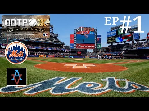 OOTP 20 - New York Mets Ep.1: Meet the Mets - Out of the Park Baseball 20 Let's Play |
