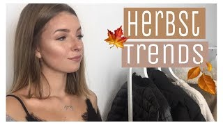 Herbst/Winter Fashion Trends 2017/18 🍁