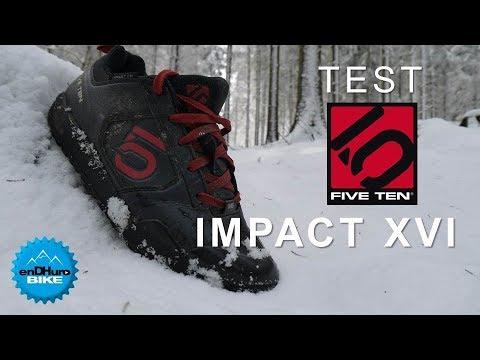 femme nombreux dans la variété nouveau pas cher Test Five Ten Impact XVI - Chaussures VTT DH Enduro [enDHurobike Test]