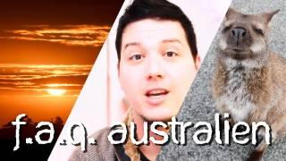 F.A.Q. - Ein Jahr Australien