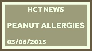 Peanut Allergies Are Getting a Little Nuts