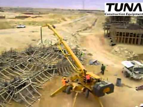 TUNA BW-19 Mobile Concrete Distributor (Cairo)