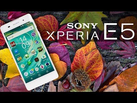 Видео-обзор смартфона Sony Xperia E5