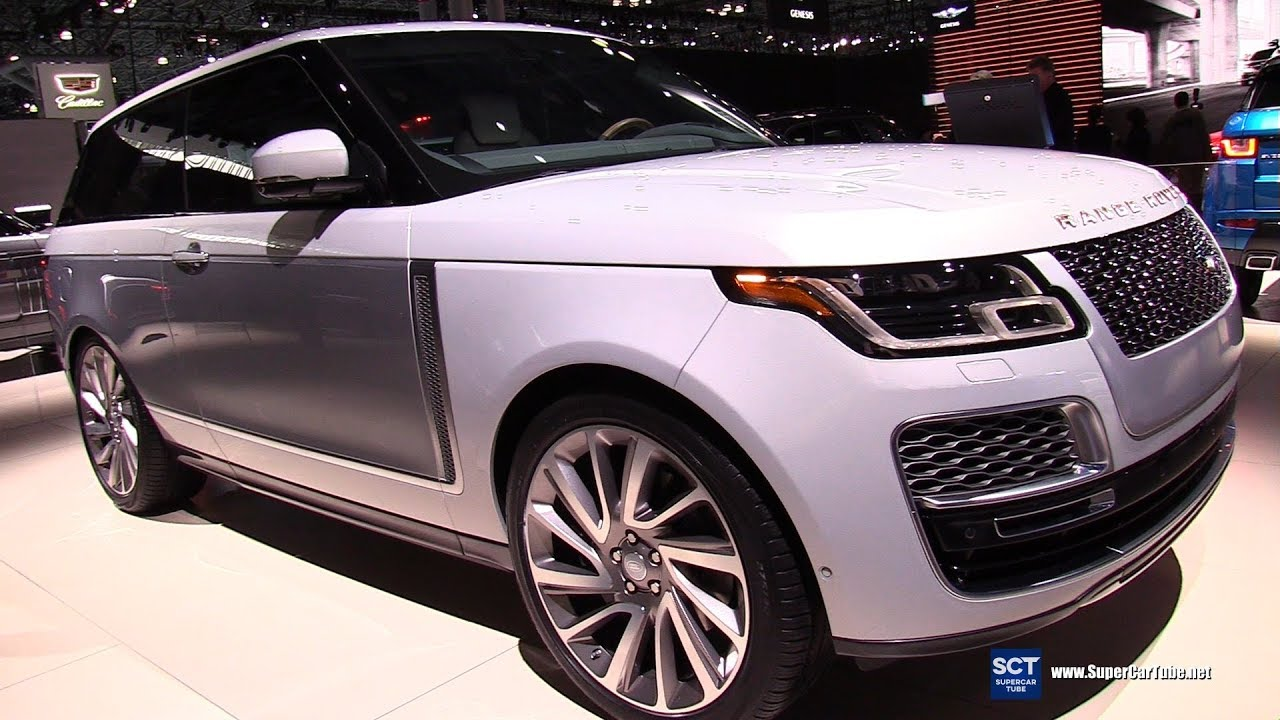 2019 range rover sv coupe exterior and interior walkaround debut 2018 new york auto show. Black Bedroom Furniture Sets. Home Design Ideas