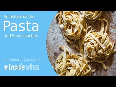 #insidevhs - Selbstgemachte Pasta Und Sauce Kochen
