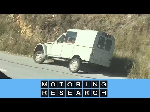 World's craziest 2CV driver in the South of France! | Motoring Research