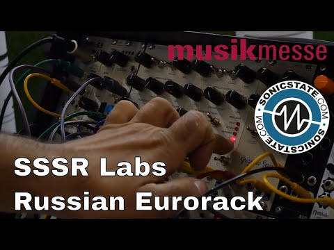 MESSE 2018: SSSR Labs - Eurorack Modules From Russia