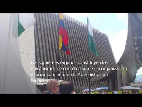 Organizacion Politica Municipio de Medellin
