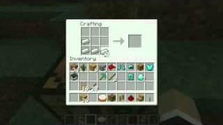 Minecraft jak zrobić szyny kolejowe