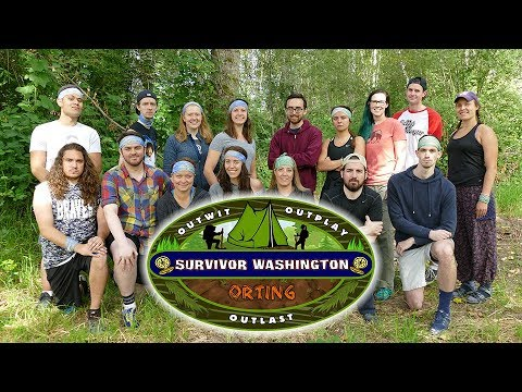 "Survivor Washington: Orting - Episode 1 - ""The Logistics of Peeing in the Woods"""