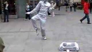 Insane Street performer - Vienna dancer