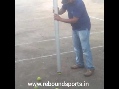 rebound sports tennis ball picker