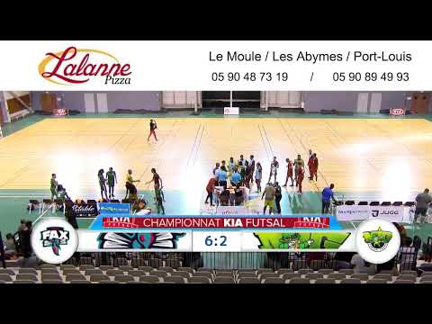 Kia Futsal Guadeloupe : 2e Journée FAX vs MIG