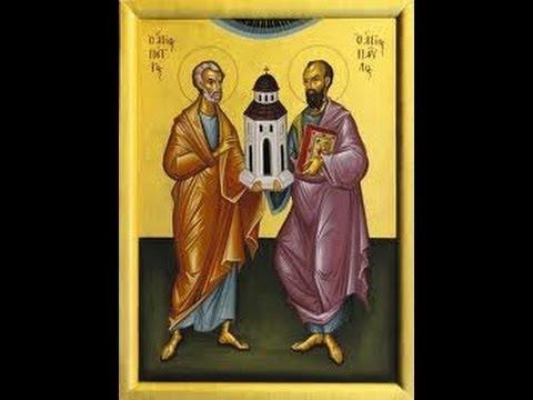 Solemnidad De San Pedro Y San Pablo Apóstoles Jueves 29