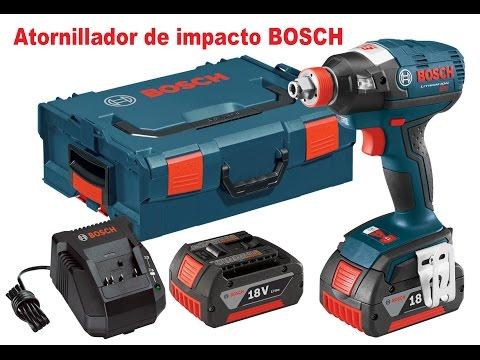 Nuevo atornillador de impacto BOSCH 18v