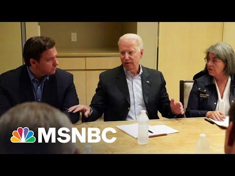 Biden Praises Bipartisan Recovery Efforts In Florida | MSNBC