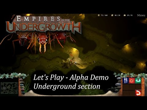 Empires of the Undergrowth DEMO - AMAZING Ant colony RTS coming to Steam & Kickstarter Let's Play