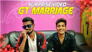 😱😍Surprise Video!!😍| My Marriage Invite To All | Gaming Tamizhan Marriage Video Surprise