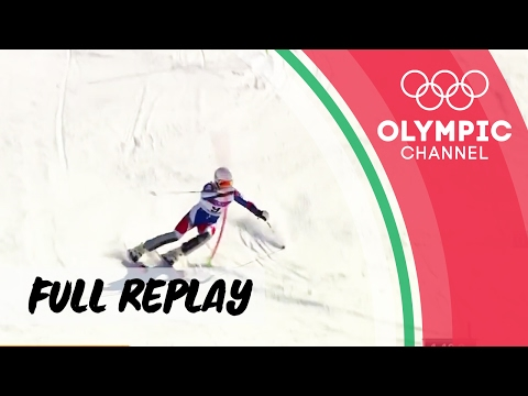 Boys' Slalom - Alpine Skiing ⛷ | RE-LIVE | European Youth Olympic Festival 2017