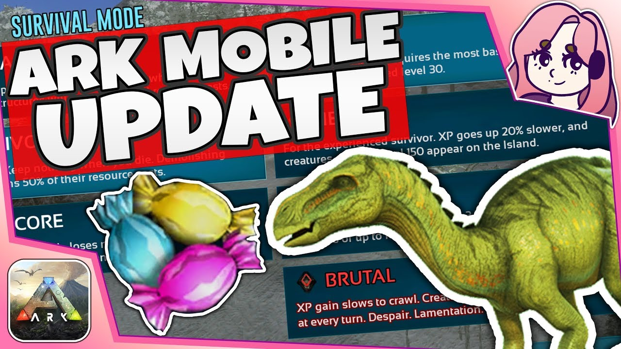 UPDATE! IGUANODONS, SINGLEPLAYER DIFFICULTY, AND MORE! | ARK Mobile Update