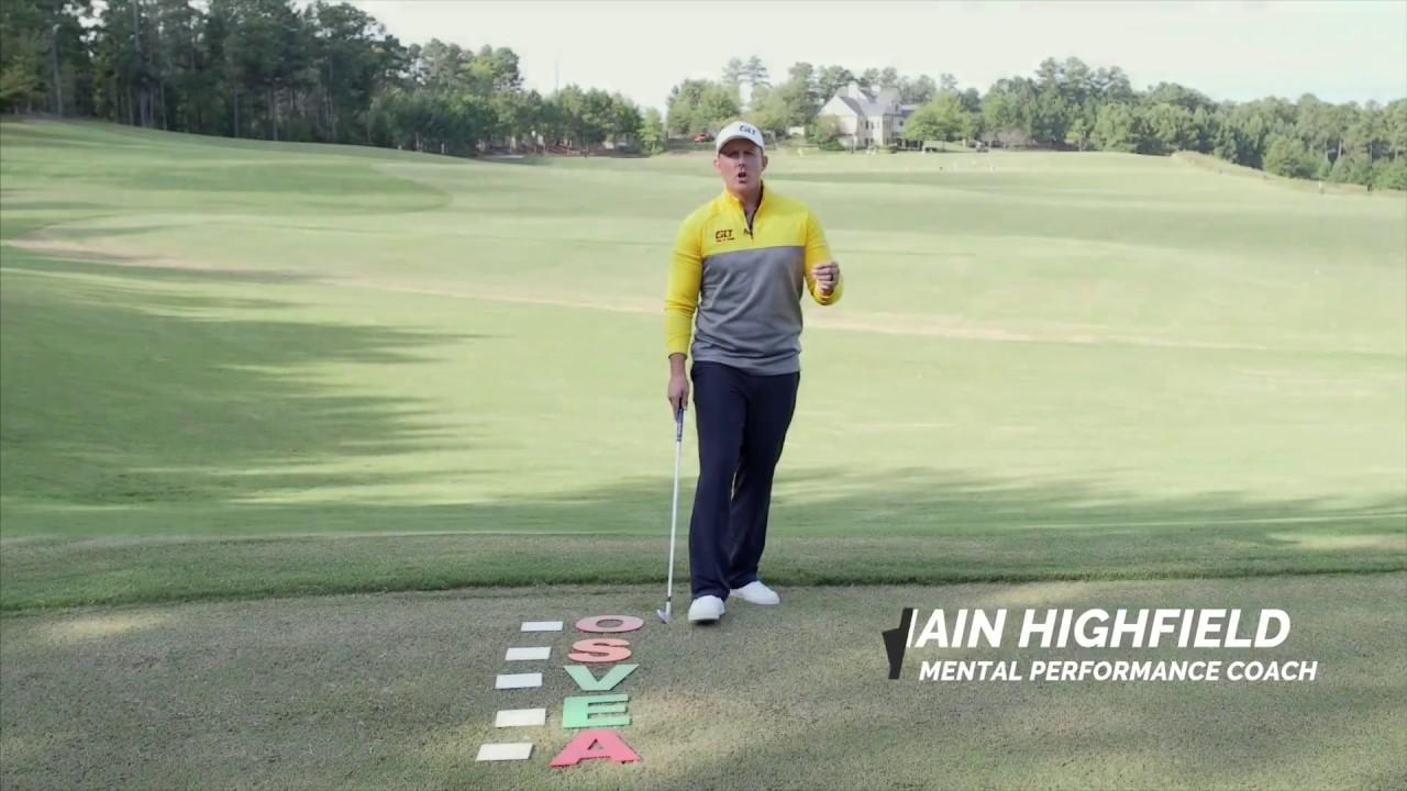 A PGA Tour Pre Shot Routine