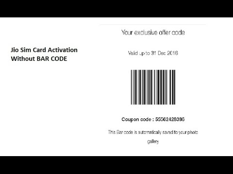 activation barcode