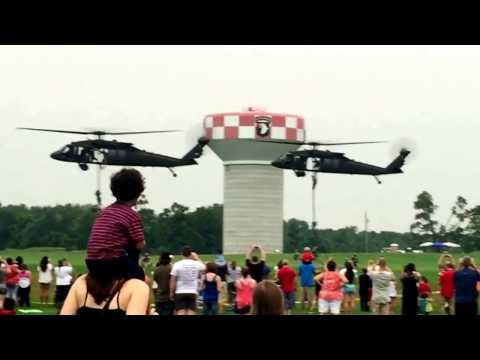 101ST Airborne Division Air Assault Demonstration 4July 2015