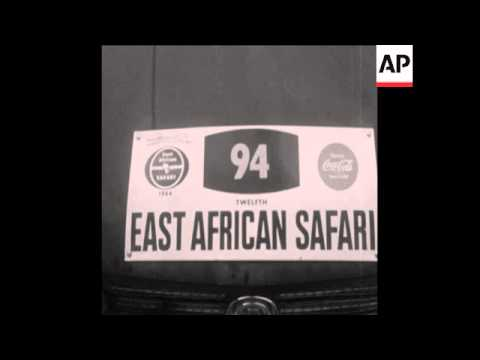 CAN 152 EAST AFRICA CAR RALLY UNDERWAY